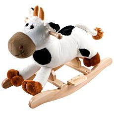 Happy Trails Connie the Plush Rocking Cow