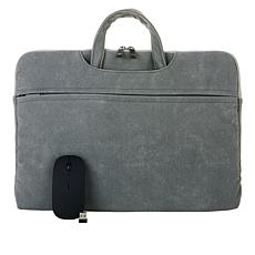 """Harifinn 15.6"""" Laptop Bag with Wireless Mouse"""
