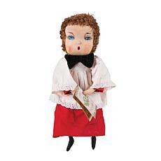 Harper Caroling Boy Figurine