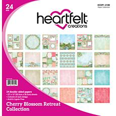 Heartfelt Creations Cherry Blossom Retreat Paper Collection