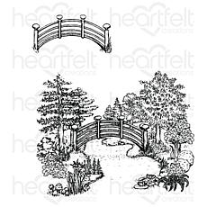 Heartfelt Creations Haven of Daydreams Cling Stamp Set