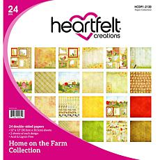 Heartfelt Creations Home on the Farm Paper Collection