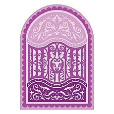 Heartfelt Creations Scalloped Flourish Gateway  Dies