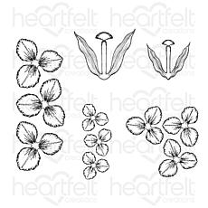 Heartfelt Creations Tulip Time Cling Stamp Set