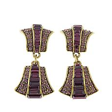 "Heidi Daus ""A Magnificent Cut"" Crystal Drop Earrings"