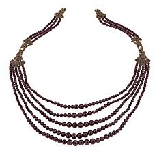 "Heidi Daus ""Age of Elegance"" Multi-Strand Necklace and Bracelet Set"