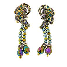 "Heidi Daus ""Ali-Gorgeous"" Crystal Drop Earrings"