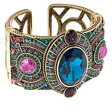 "Heidi Daus ""Artemis"" Crystal Bangle Cuff"