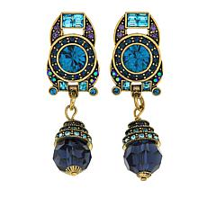 "Heidi Daus ""Artful Elegance"" Crystal Drop Earrings"