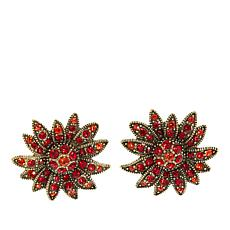 "Heidi Daus ""Autumn Splendor"" Crystal Earrings"