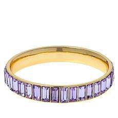 Heidi Daus Beautiful Baguette Bangle Bracelet