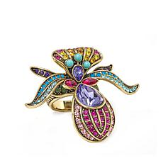 "Heidi Daus ""Blooming Love"" Crystal Statement Ring"