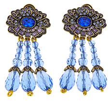 "Heidi Daus ""Brilliant Beauty"" Crystal-Accented Drop Earrings"