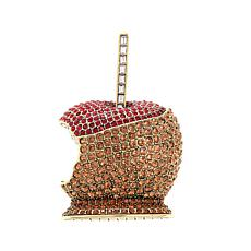 "Heidi Daus ""Candy Apple"" Crystal Pin"