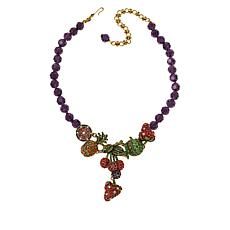 """Heidi Daus """"Captivating Compote"""" Crystal Beaded Necklace"""