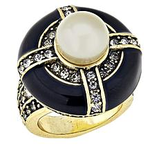 "Heidi Daus ""Casual Chic"" Round Ring"