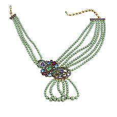 "Heidi Daus ""Classically Curated"" Multi-Strand Drop Necklace"
