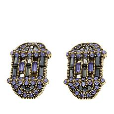 "Heidi Daus ""Decidedly Dapper"" Crystal Earrings"