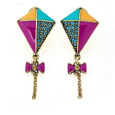"Heidi Daus Disney's Mary Poppins Returns ""Off We Go"" Drop Earrings"