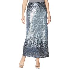 "Heidi Daus ""Distinctive Glamour"" Sequin Maxi Skirt"
