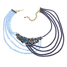 "Heidi Daus ""Dramatic Drape"" Multi-Strand Drape Necklace"