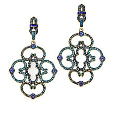 "Heidi Daus ""Entrance Maker"" Crystal Drop Earrings"