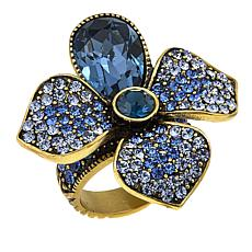 "Heidi Daus ""Eye Catching Array"" Crystal Ring"