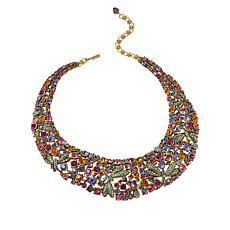 "Heidi Daus ""Fantasy in Flight"" Crystal Collar Necklace"