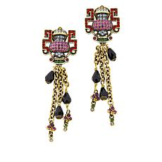 "Heidi Daus ""Glamorous Geisha"" Crystal-Accented Drop Earrings"