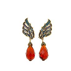 "Heidi Daus ""Heidi's Angels"" Crystal Drop Earrings"