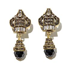 "Heidi Daus ""Heidi's Master Clasp"" Crystal Drop Earrings"