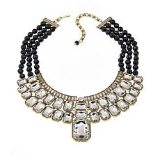 "Heidi Daus ""Ice Breaker"" 3-Strand Beaded Drop Necklace"