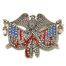 "Heidi Daus ""Life, Liberty & the Pursuit of Sparkle"" Pin"