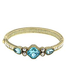 "Heidi Daus ""Little Bracelet, Big Style"" Crystal Bangle Bracelet"