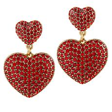 "Heidi Daus ""Love Heidi Style"" Crystal Drop Earrings"