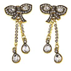 "Heidi Daus ""Lovely Touch"" Drop Earrings"
