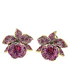 "Heidi Daus ""Mandalay Beauty"" Crystal Earrings"