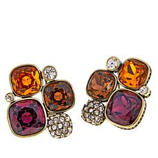 "Heidi Daus ""Master Pieces"" Crystal Earrings"
