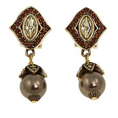 "Heidi Daus ""Masterful Marquise"" Crystal Drop Earrings"