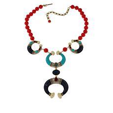 "Heidi Daus ""Modern Masterpiece"" Beaded Necklace"