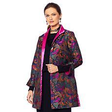 Heidi Daus Modern Monarch Jacquard Topper