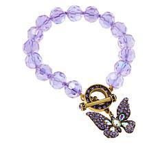 "Heidi Daus ""Monarch Magic"" Butterfly Bracelet"
