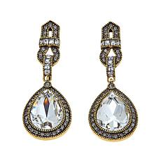 "Heidi Daus ""My Heirloom"" Crystal Drop Earrings"