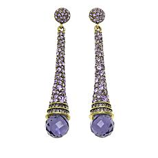 "Heidi Daus ""Never Ending Elegance"" Crystal Drop Earrings"