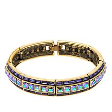 "Heidi Daus ""Orient Expression"" Crystal Link Bangle"