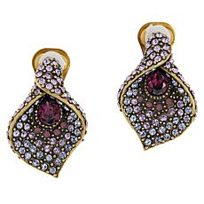 "Heidi Daus ""Perpetual Beauty"" Crystal Earrings"