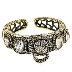 "Heidi Daus ""Pride of the Jungle"" Crystal-Accented Cuff Bracelet"