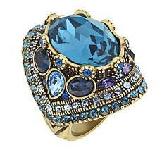 "Heidi Daus ""Shirli Stunning"" Crystal Statement Ring"