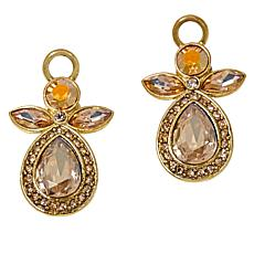 "Heidi Daus ""Sparkling Messenger"" Crystal Earrings"