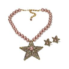 "Heidi Daus ""Star of the Show"" Crystal Jewelry Set"